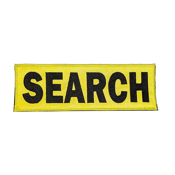 Embroidered Patch (Velcro): SEARCH