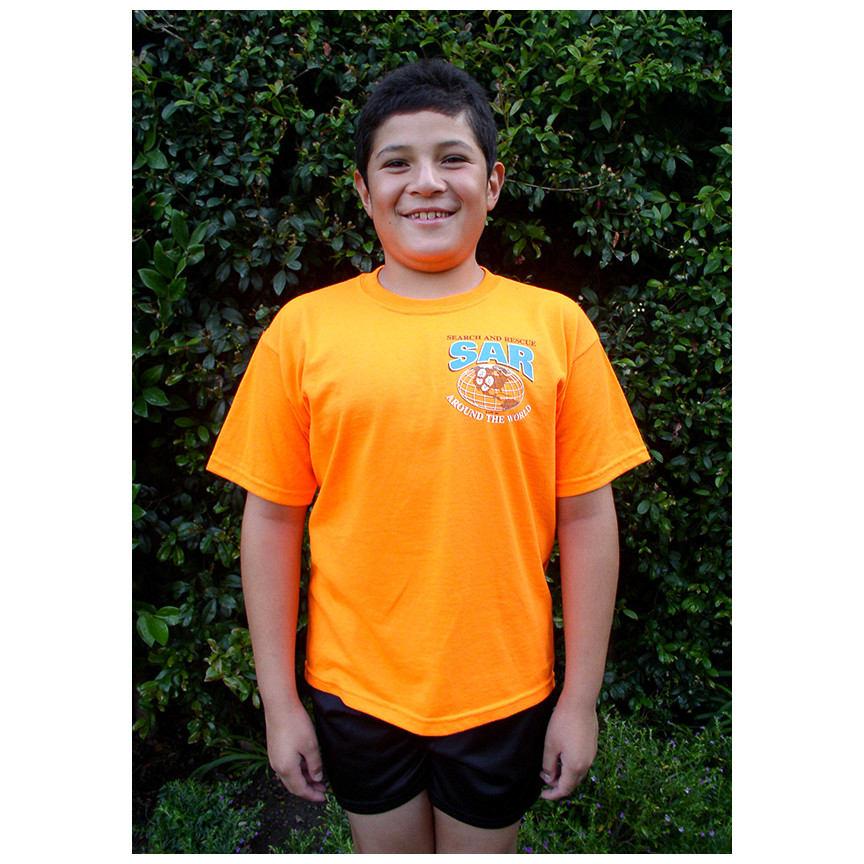YOUTH Short Sleeve T-Shirt: SAR Around the World