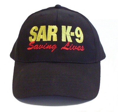 Ball Cap: SAR K-9 Saving Lives