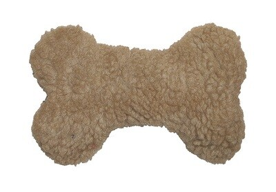 Plush Bone with Squeaker