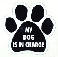 Paw Magnet: MY DOG IS IN CHARGE