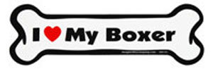 Bone Magnet: I Love My Boxer
