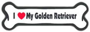 Bone Magnet: I Love My Golden Retriever