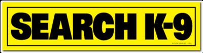 Reflective Patch: SEARCH K-9