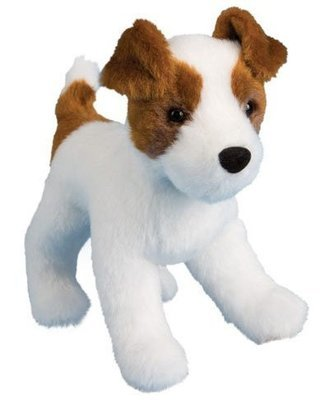Plush Pup Standing: Jack Russell Terrier