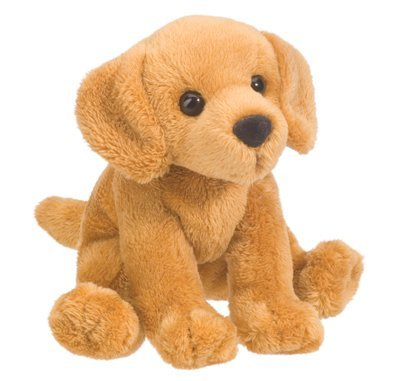 Plush Pup: Golden Retriever