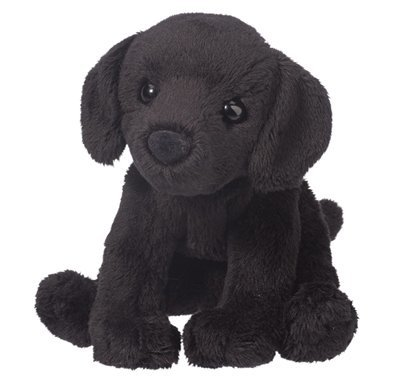 Plush Pup: Black Lab