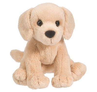 Plush Pup: Yellow Lab