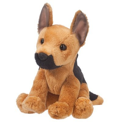 Plush Pup: German Shepherd