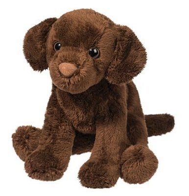 Plush Pup: Chocolate Lab