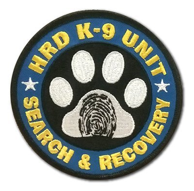 Embroidered Patch: HRD K-9 UNIT