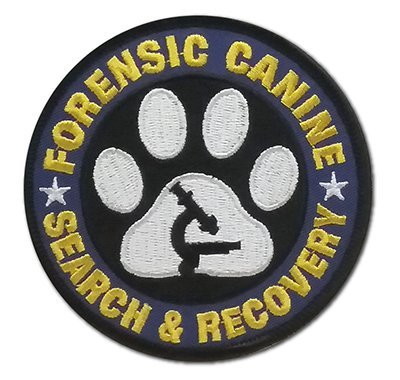 Embroidered Patch: FORENSIC CANINE