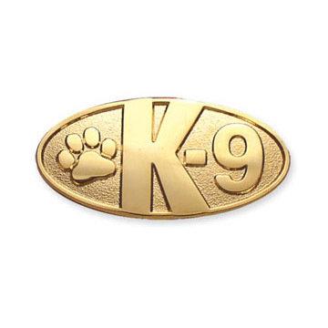 Lapel Pin: Paw K-9