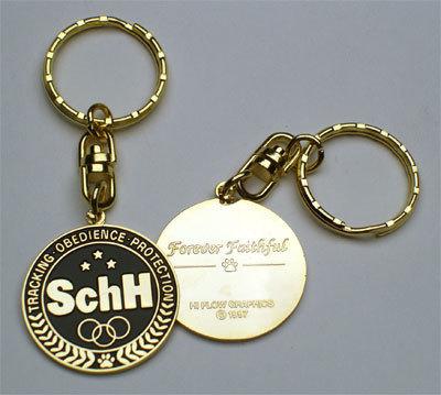 Keychain: SchH K-9 Olympiad