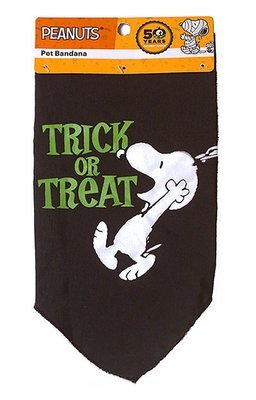 Pet Bandana: Trick or Treat