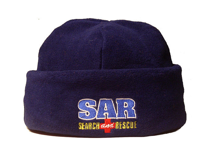 Fleece Hat: SAR K-9