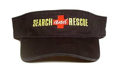 Hat Visor: SEARCH AND RESCUE
