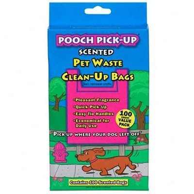 Pooch Pick Up Bags: 100