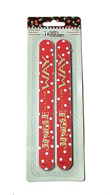 Emery Boards (Set of 2): Jingle All the Way