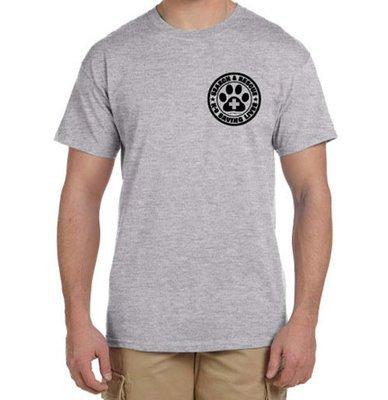 Short Sleeve T-Shirt: SAR K-9 All Breed (M)