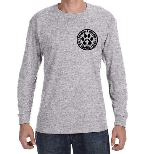 Long Sleeve T-Shirt: SAR K-9 All Breed (XXL)
