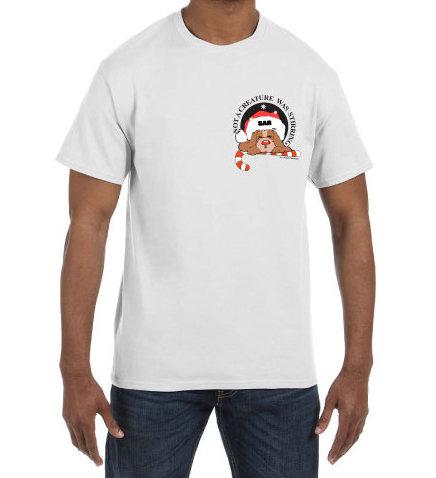 Short Sleeve T-Shirt: Twas the Night K-9