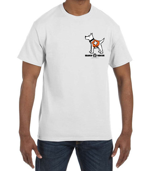 Short Sleeve T-Shirt: Man's Best Friend