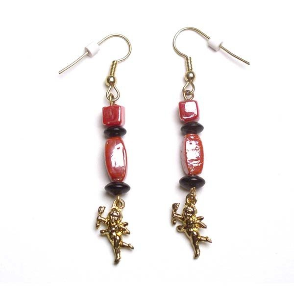 Earrings: Cupid
