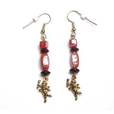 Earrings: Cupid