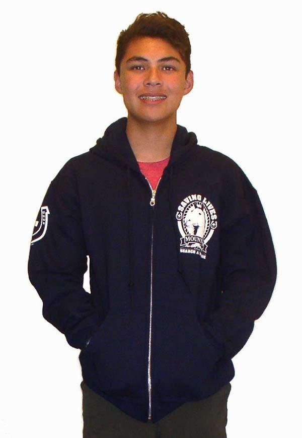 Zipper Hoodie Sweatshirt: MSAR