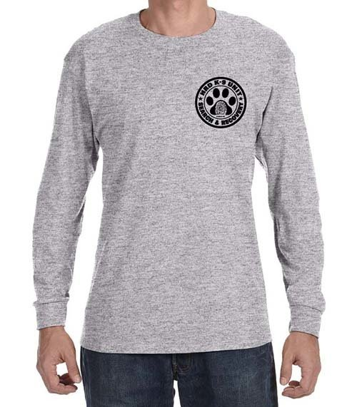 Long Sleeve T-Shirt: HRD K-9 UNIT