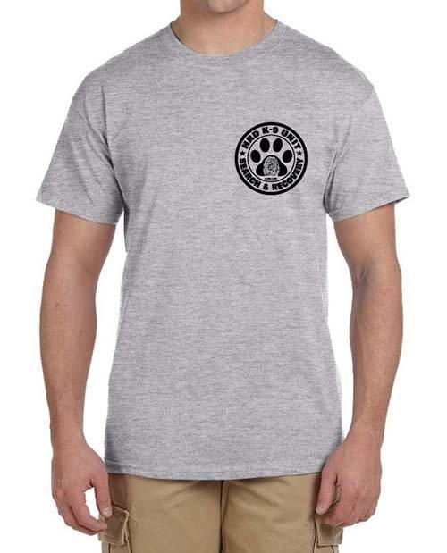 Short Sleeve T-Shirt (Dri-Wear): HRD K-9 UNIT