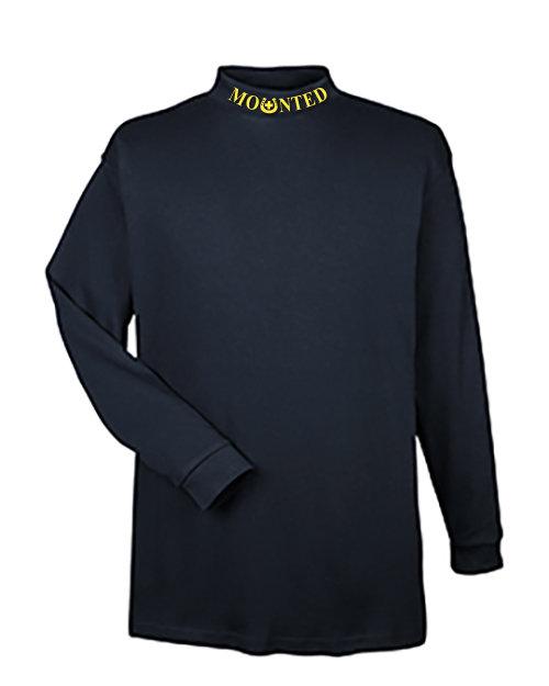 Mock Turtleneck Long Sleeve: MSAR