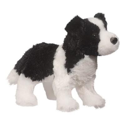 Plush Pup Standing: Border Collie