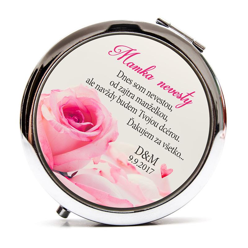 Zrkadielko: Mamka nevesty - Jemná ružička 00466