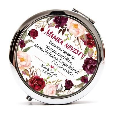 Mamka nevesty - Marsala kvety