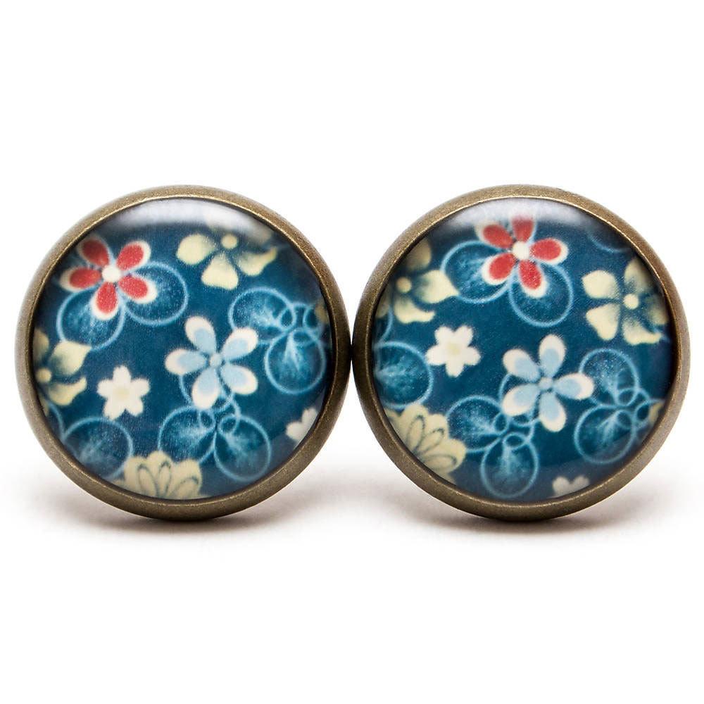 Kvetinkové modré 00283