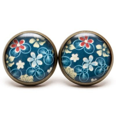 Kvetinkové modré