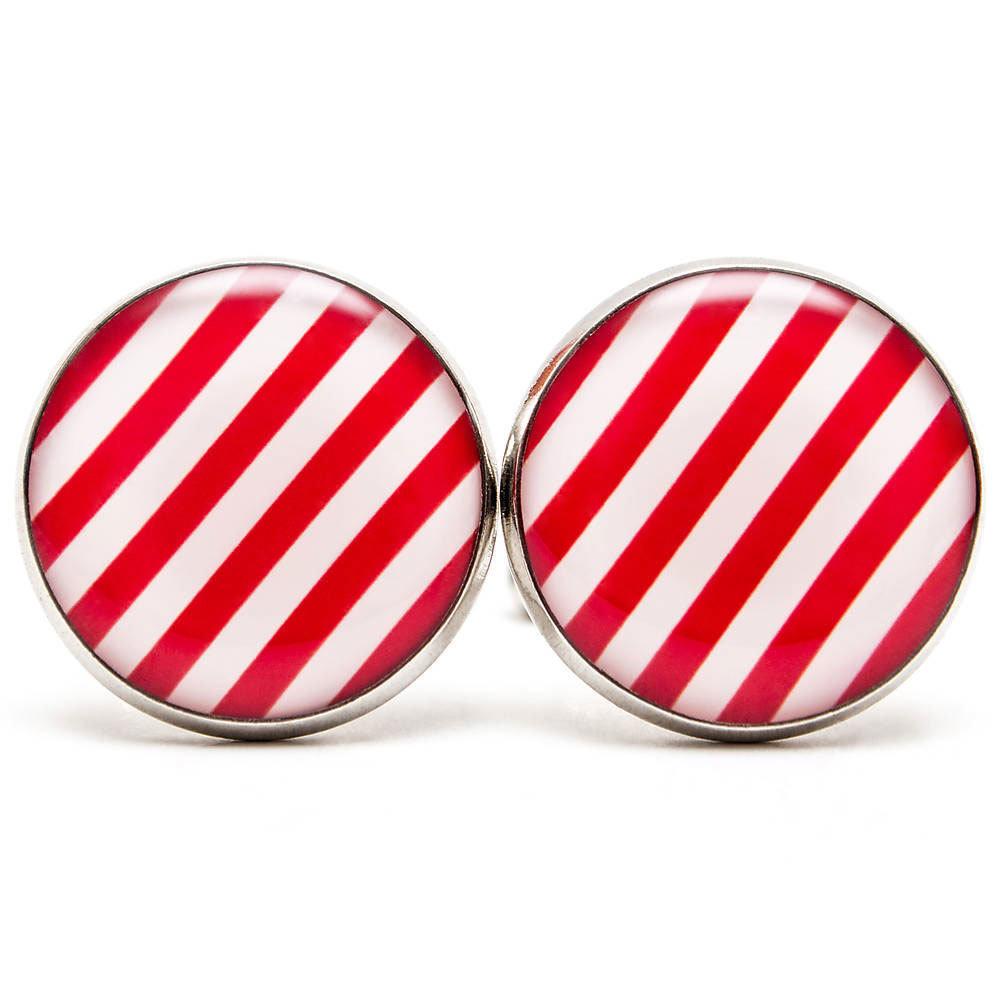 Červeno-biele pásiky 00335