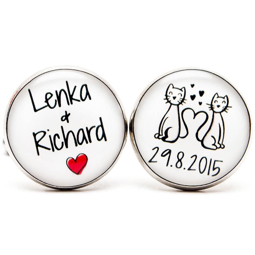 Mačičky s menami a dátumom 00351