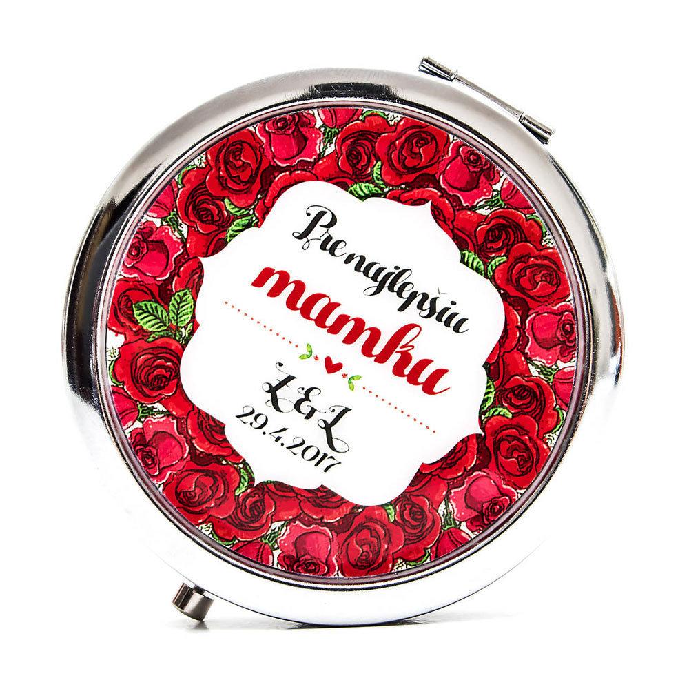 Zrkadielko pre mamku - ruže 00408