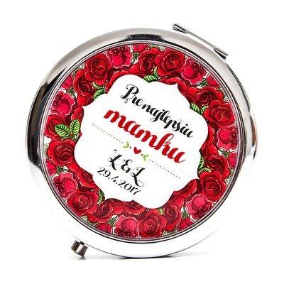 Zrkadielko pre mamku - ruže