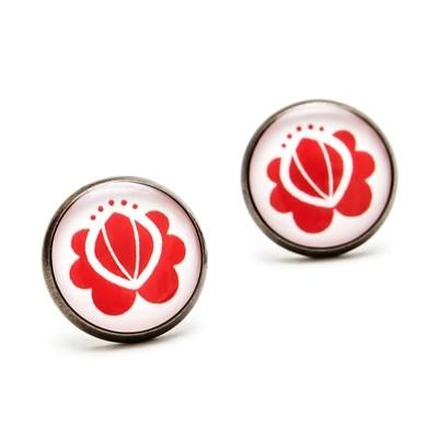 Séria Minimal - Kvetinka červená