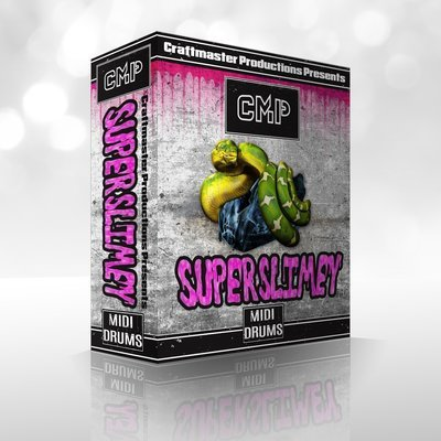 Super Slimey Midi Drums SUPERPACK