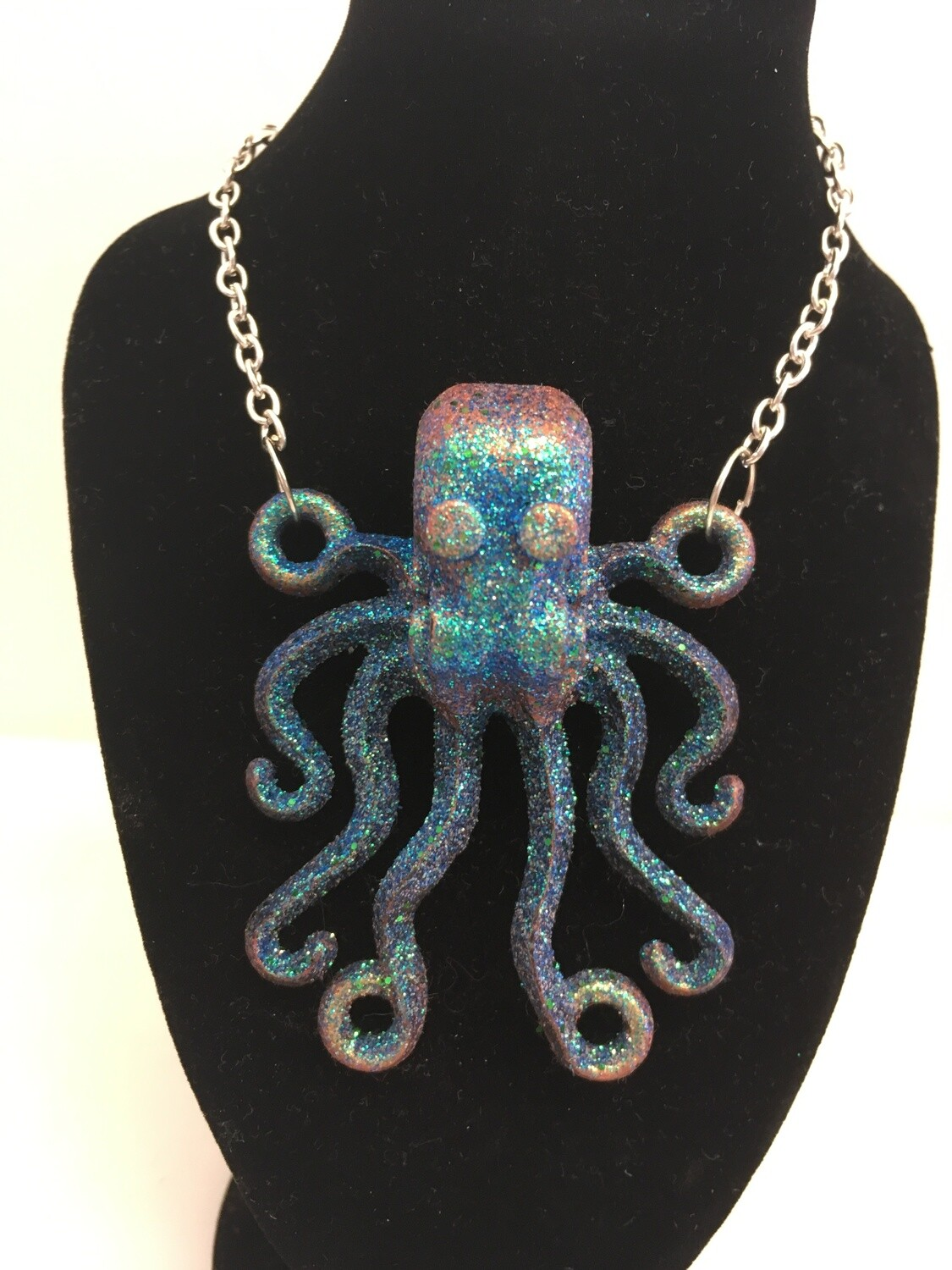 Upcycled Vintage Octopus Necklace
