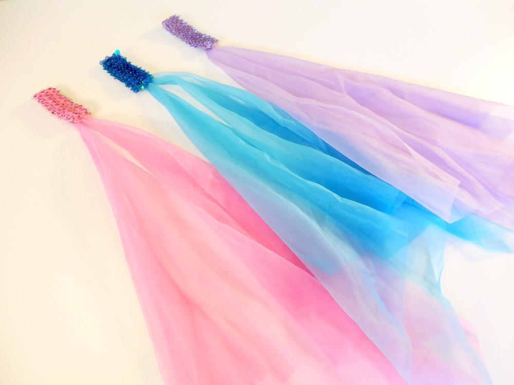 Pink, Teal, Lavender