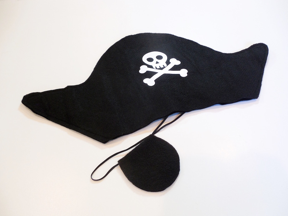 Pirate Hat & Patch Set
