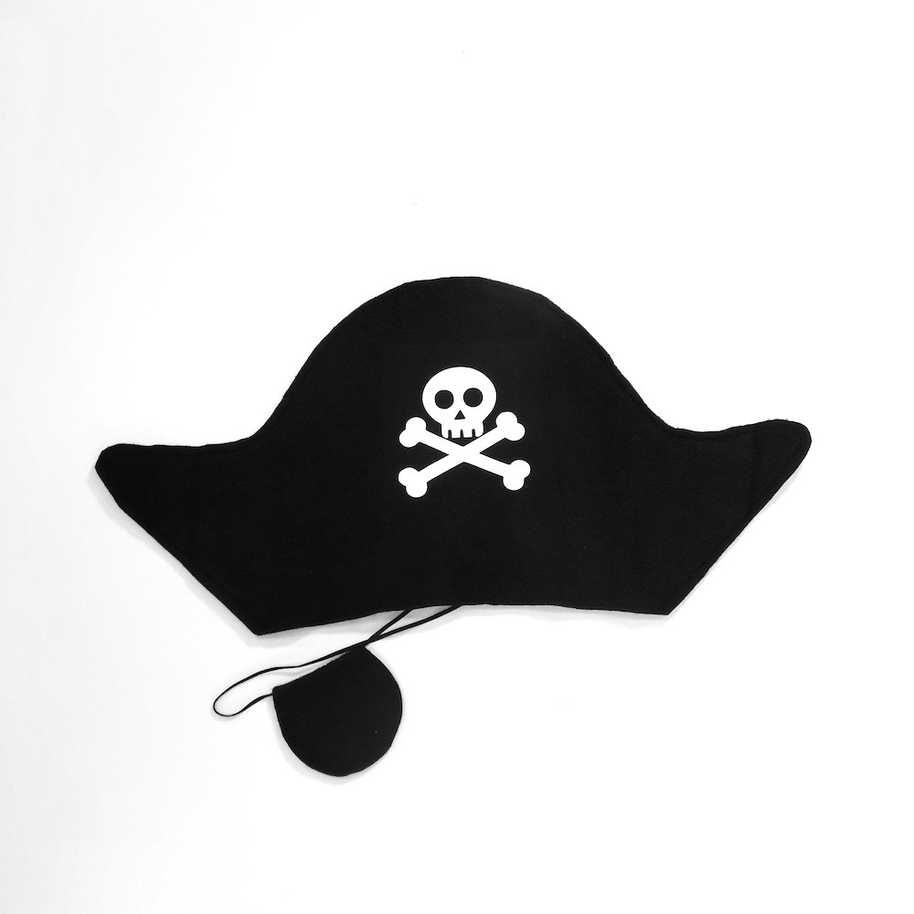 Pirate Hat & Patch Set 22010
