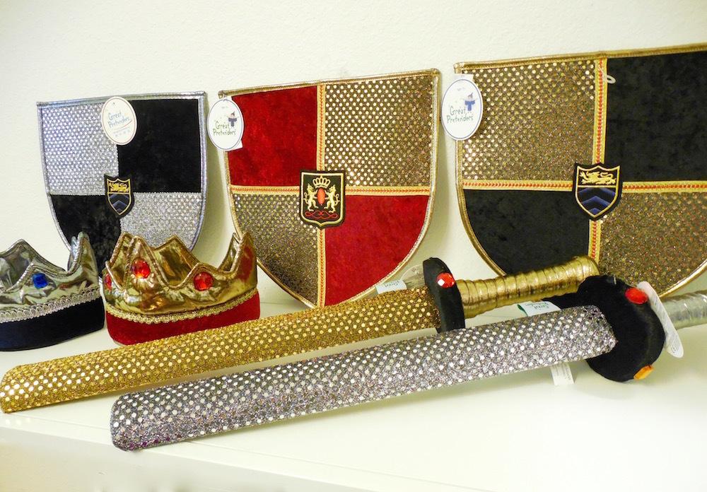 Sword, Shield, Crown