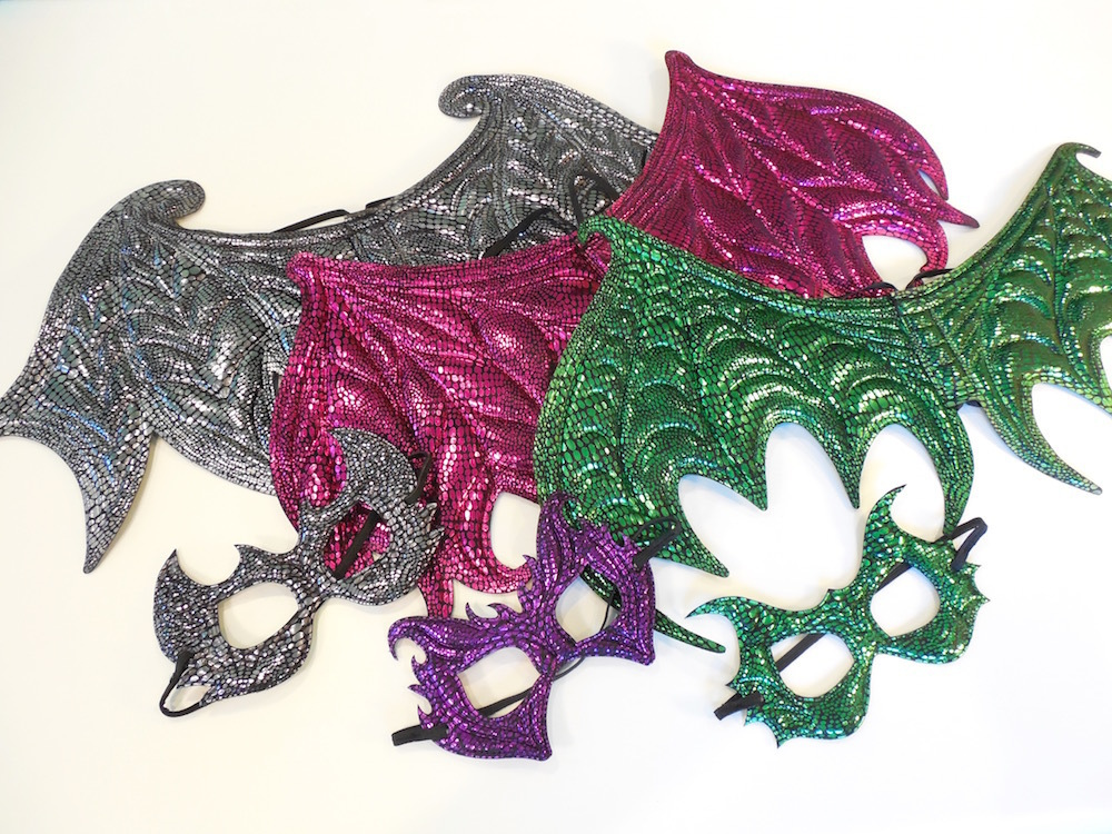 Dragon Wings & Mask Sets